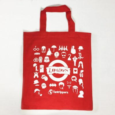 Tote bag Fantrippers Londres