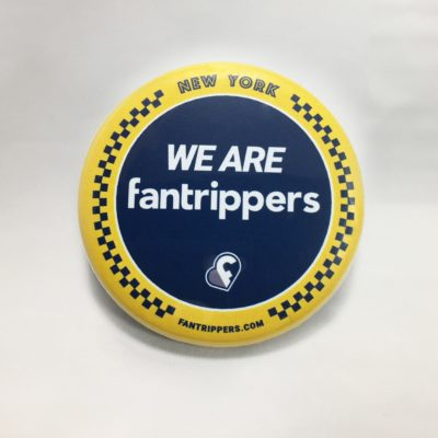 Badge We Are Fantrippers New York