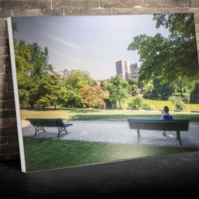 Photo sur toile Paris parc montsouris