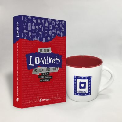 Pack Fantrippers guide Londres avec tasse Bridget Jones