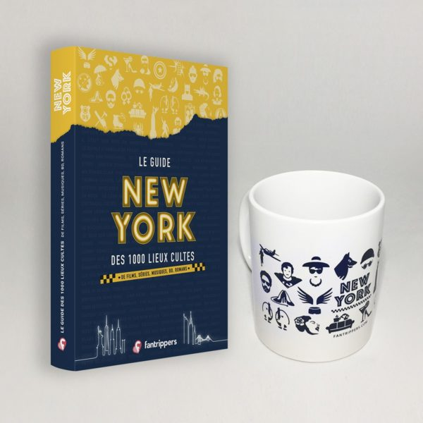 Pack Fantrippers guide New York + mug
